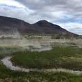 Nearby hot springs field- Mickey Hot Springs