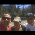 Before the hike- Tokopah Valley Trail