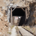 First tunnel closest to DeAnza Resort.  Taken 9/7/2018- Goat Canyon Trestle Trail