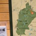 Map on trailhead sign- Cultus Creek to Lemei Rock