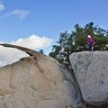 The guy that took my pic actually caught me, mid jump.  Wasn't a big deal.- Potato Chip Rock, Mount Woodson