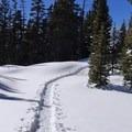 Trail From Long Lake to Lake Isabelle- Long Lake, Lake Isabelle + Pawnee Pass