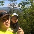 view just below the sumit as we ate our lunch- Mount Peak (Pinnacle Peak)