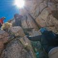 class 3 climb - Crystal Crag