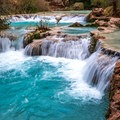 havasu fall terraces- Havasu Falls Hike via Havasupai Trail