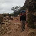 Me hiking in.- Hermit Trail