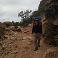 Me hiking in.- Hermit Trail