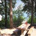 Glacier View Campground, Lake Wenatchee