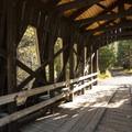 Shevlin Park's Hixon Crossing.- Shevlin Park