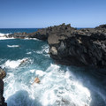 View from the Wai'anapanapa Sea Arch.- Wai'ānapanapa State Park