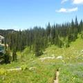 Palisades Lakes Trail