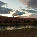Another beautiful sunset on the river.- John Day River: Clarno to Cottonwood Bridge