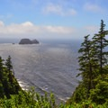 View of Cape Meares.- Cape Meares Lighthouse