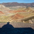 View from the overlook.- Painted Hills Unit