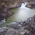 Lower falls- White River Falls State Park