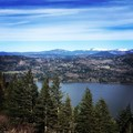 View from the top of Angel's Rest- Angels Rest + Foxglove Way Hike