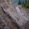 Switchback stairs- Beacon Rock Hike