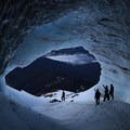 Mouth of the cave- Mount Hood: Sandy Glacier Ice Caves
