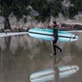 Surfer at Short Sands.- Short Sand Beach