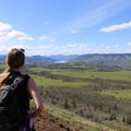 View near the top of the Tom McCall Point hike- Tom McCall Point Hike