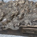 3D metal map at Olmstead Point- Olmsted Point