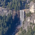 Vernal Falls viewed from the Panorama Trail- Panorama Trail via Glacier Point