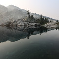 Early morning reflections on Robin Lake- Tuck + Robin Lakes