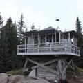 The lookout tower- Devils Peak Lookout