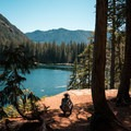 The viewpoint- Lena Lake Hike