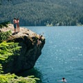 - Lake Cushman, The Big Rock