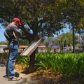 Find historical information throughout the Mission.- Old Mission Santa Barbara