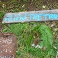 Mind the troll at Tunnel #24...  - Upper Salmonberry River Trail