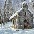 Chapel on the hill.- Trapp Family Lodge Cross-country Ski Center