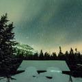 Starry skies above Mt. Mansfield.- Taft Lodge