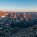 Glacier Basin in morning light- Longs Peak: Keyhole Route