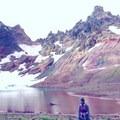 At the lake!- Broken Top Crater Hike