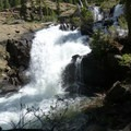 Falls, there's a photo of these in the main trail description- Granite Lake + Seven Up Pass