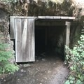 Old mine shaft along the forest road- Opal Creek Hiking Trail