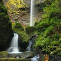 Elowah Falls from downstream- Elowah Falls HIke