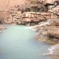 A view of Diamond Fork (Fifth Water) Hot Springs.- Fifth Water Hot Springs