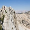 Solid exposure throughout the route- Matthes Crest Traverse