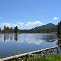 Sprague Lake.- Sprague Lake Loop Hike