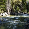 Roaring Stuart Fork at Alpine Lake trailhead- Alpine Lake