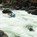 Snow Hole Rapid, Class IV, on the Lower Salmon River- Lower Main Salmon River: Pine Bar to Heller Bar