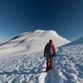 The walk from the false summit, Pike's Peak to the true summit of Mt Adams- Mount Adams, South Climb