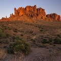 A shot walk around the Superstition Mountains is worth checking out- Lost Dutchman State Park Campground