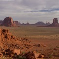 View from Artist's Point- Monument Valley Navajo Tribal Park