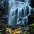 Close up of Fairy Falls- Wahkeena Falls/Multnomah Falls Loop Hike