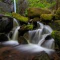 A beautiful falls- Dry Creek Falls Hike