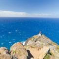 Choppy seas below Makupu'u Lighthouse- Makapu'u Point + Lighthouse Hike
